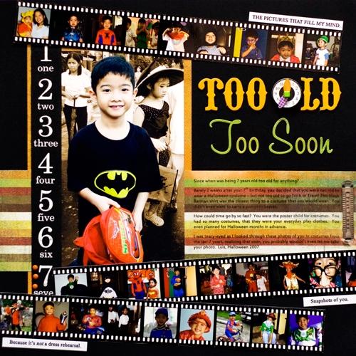Too Old Too Soon