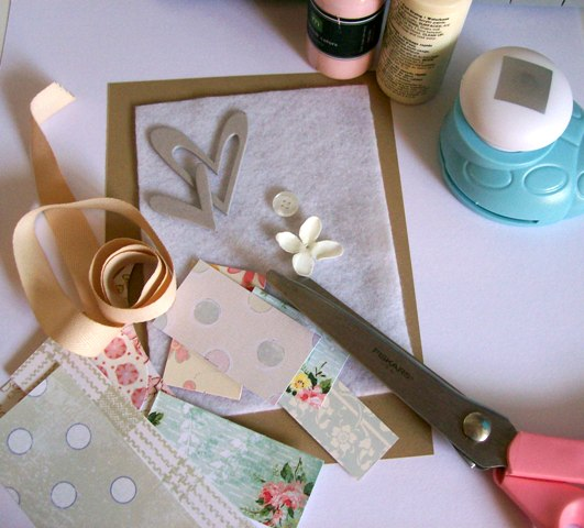 Quilted card tutorial 1