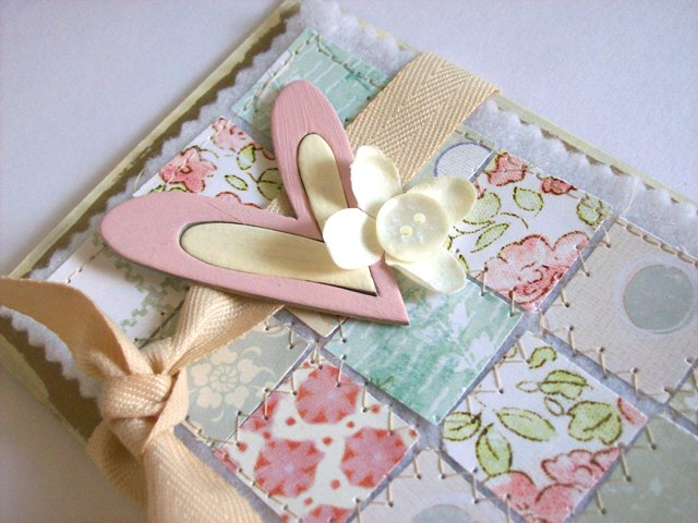 Quilted card tutorial 9