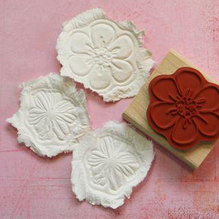 Paper casting 9