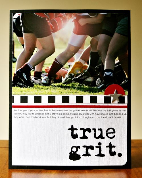 true grit paper