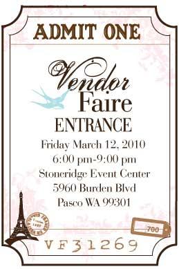 Vendor-Faire-Ticket-image