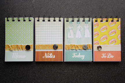 All four notebooks