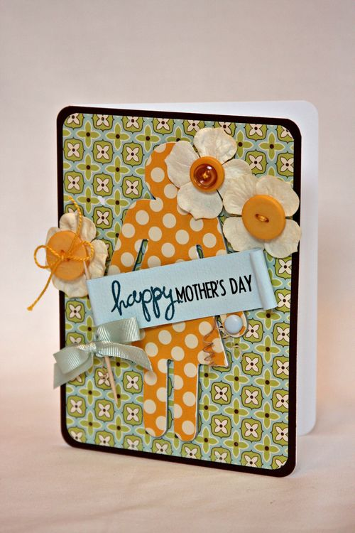 Happy mothers day card low