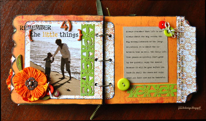 Scrapbook Cards Today Blog 5 Things You Taught Me To Grow