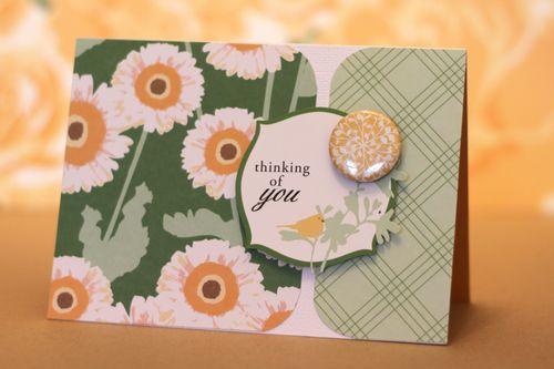 SCT World Card Making Day Card - April
