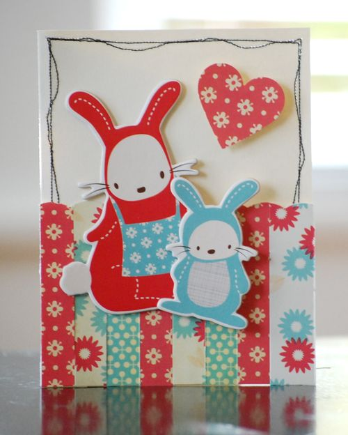 Striped Togetherness Card