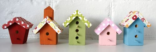 Magnetic Jillibean Soup Birdhouses (small)