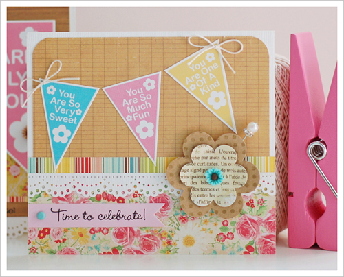 Scrapbook cards today blog birthday inspiration with sheri time to celebrate 2 bookmarktalkfo Image collections