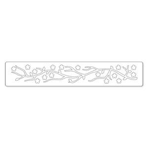 Sizzix Sizzlits Decorative Strip Die - Branch, Cherry Blossom