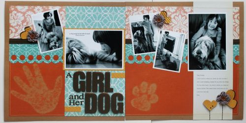 A Girl and Her Dog - new version (small)