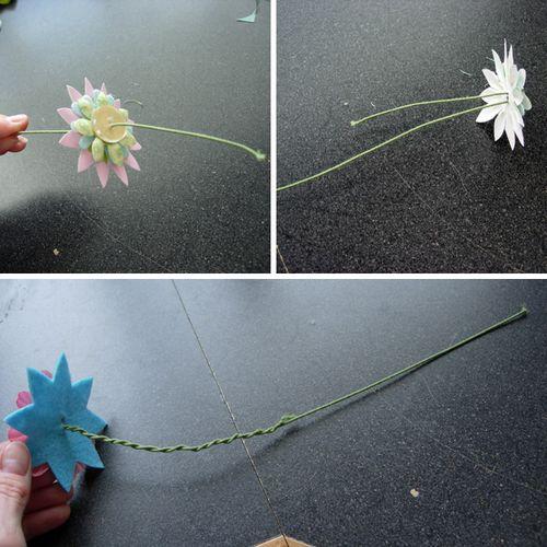 Assemble flowers