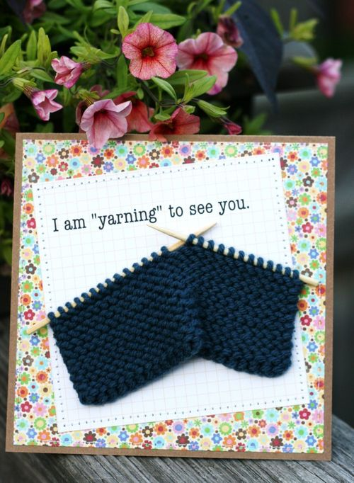 Yarning Card