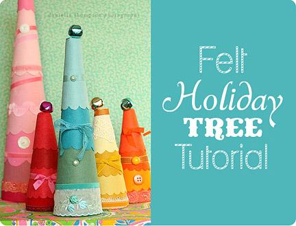 Craftproject2-felttrees
