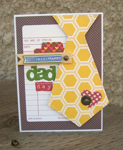 Scrapbook Cards Today Blog Fathers Day Cards From Our Readers