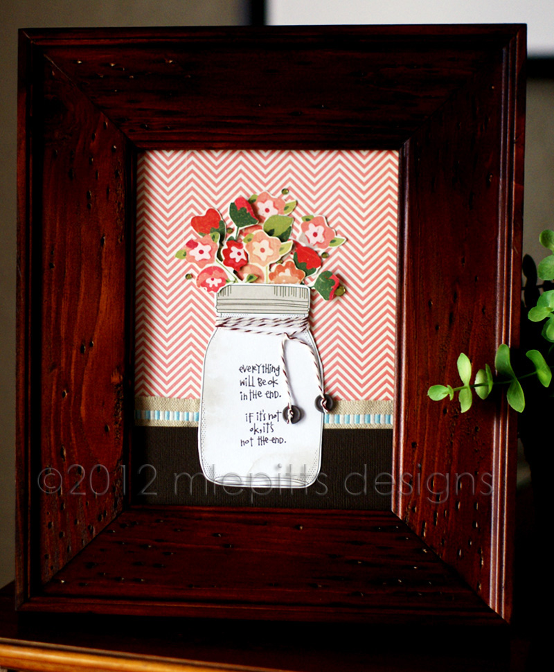Scrapbook & Cards Today Blog: Framing a quote...Emily style! (and ...