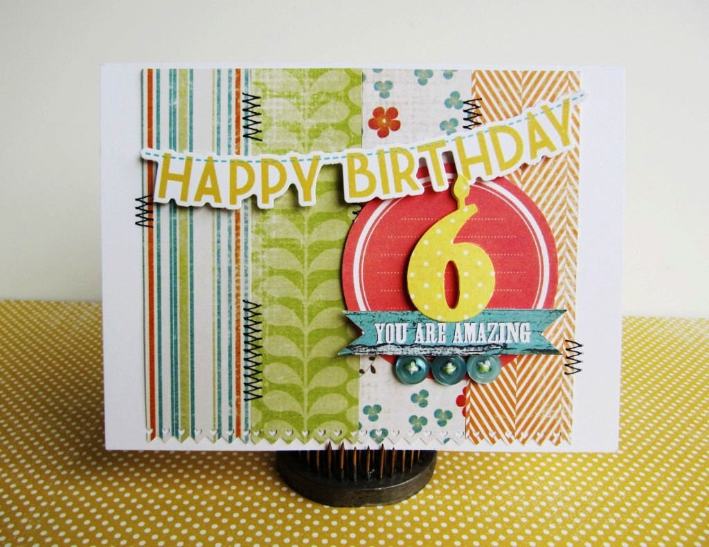 Scrapbook Cards Today Blog Join us for our 6th birthday – Scrapbooking Birthday Card Ideas