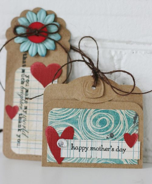 Mother's Day Card and Gift Tag (660x800)