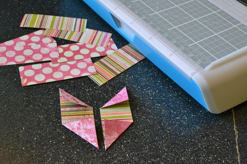 Cut and fold strips