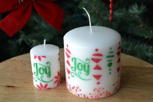 Stamped candles_aly dosdall