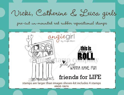 VICKI, CATHERINE & LEICA GIRLS
