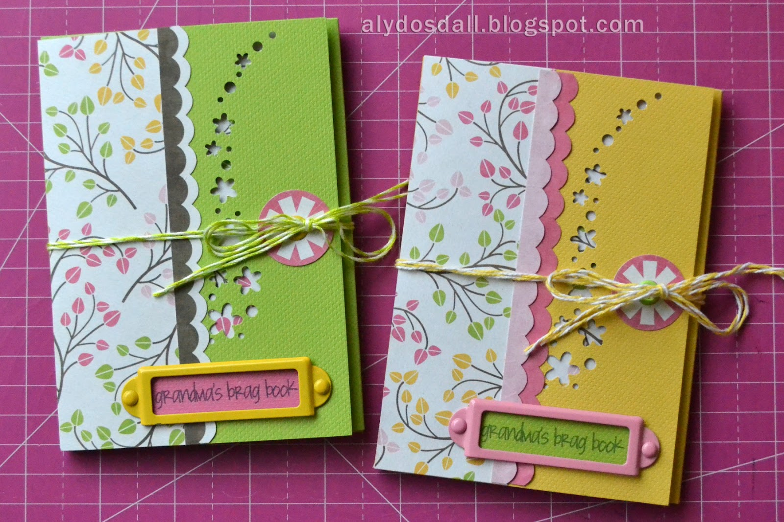 scrapbook cards today blog mother s day brag books tutorial by