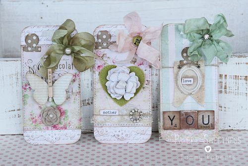 Sizzix_Tammy Roberts_Mothers Day_Bookmarks