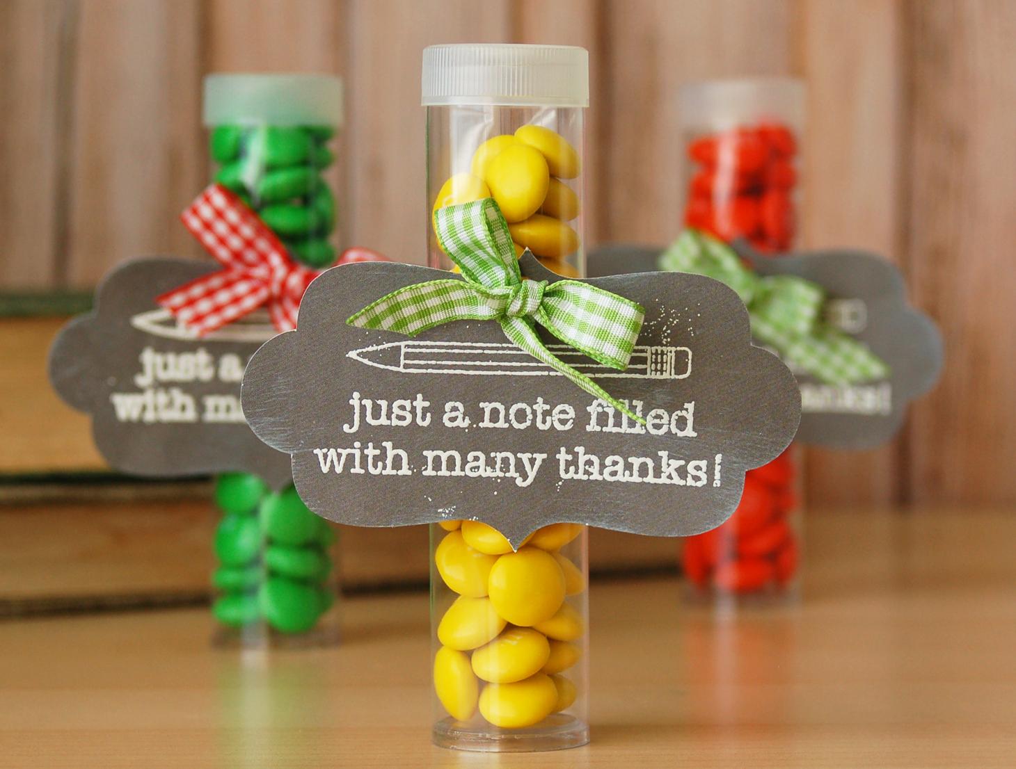 Scrapbook ideas for teachers - Teacher Appreciation Gift 1