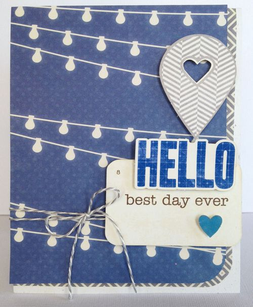 Jb-best day ever card
