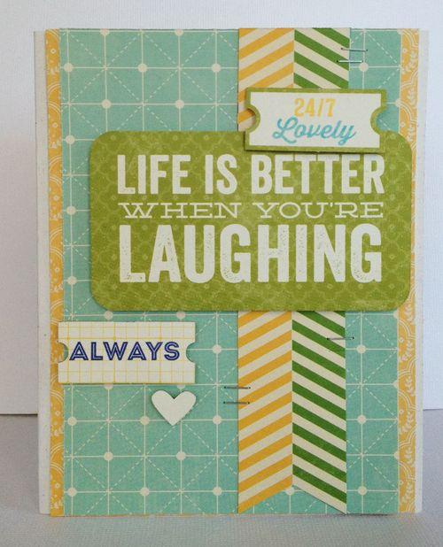 Jb-laughing card