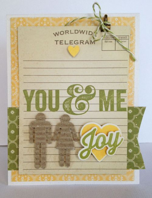 Jb-you and me card