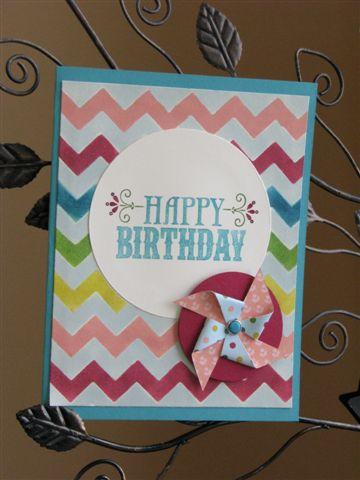 1 Birthday Card - Julie Olivier