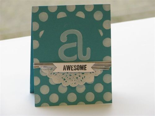 9 Awesome Card - Cathy Caines