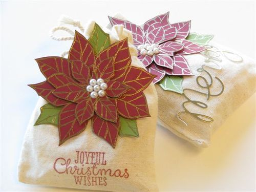 7  Merry & Poinsettia Treat Bags - Anne Granger (3)