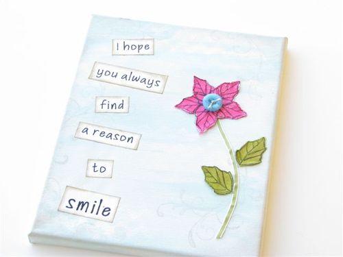 15 Smile Canvas Art - Susan Bruyn