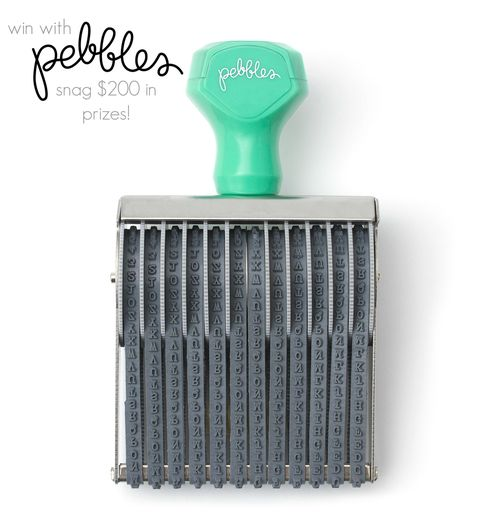 Pebbles Giveaway