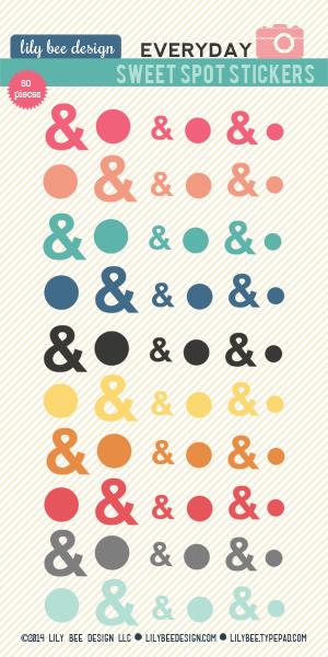 Ampersand_lilybee stickers