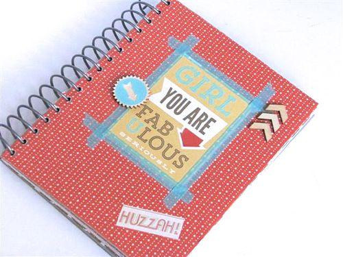 12b Fabulous note book - Carol Mattews