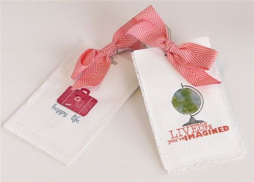 3 - Luggage Tag - Cathy Caines