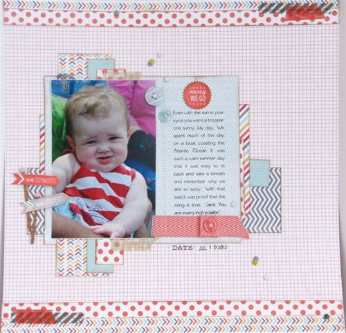 1 - Scapbook page - Cathy Caines
