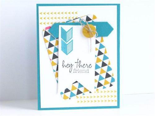 13 - Hey There Friend Card - Anne Granger