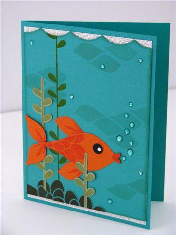 12 Fish Card - Martha Inchley