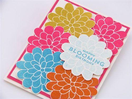 8 Blooming card2 - Linda Yamamoto