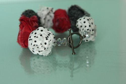 Fabric-bracelet