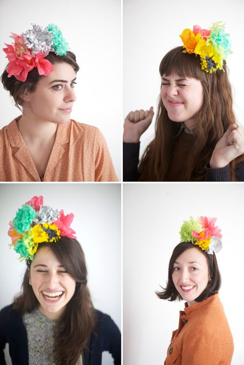 Kim Watson+Flower hats+SBCT