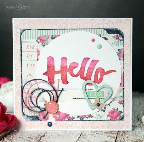 Hello-letterpress