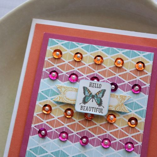 Shellye McDaniel-Hello Sequin Card3