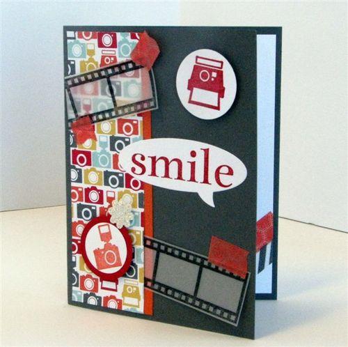 13 - Smile Card - Julie Oliver