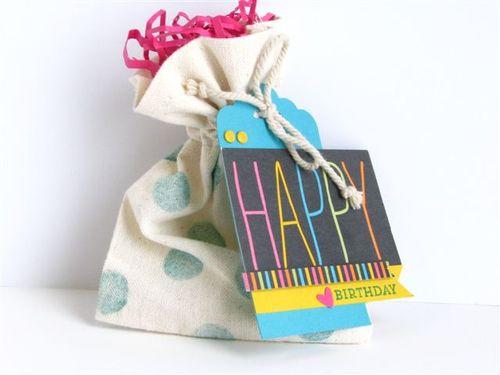 10 - Happy Gift Bag - Anne Granger