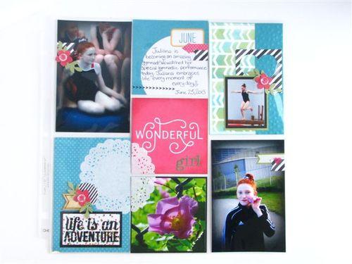6 - Wonderful Girl Page - Susan Bruyn